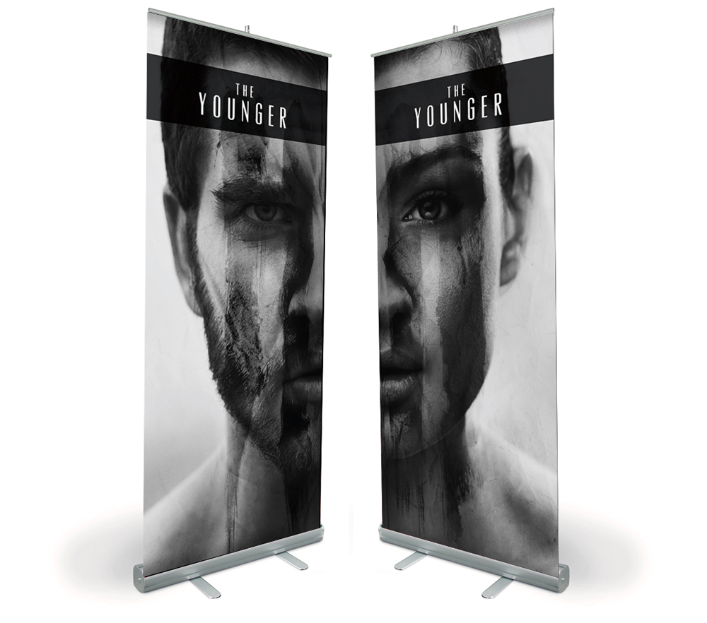 The Younger – EP Pop–up Banners