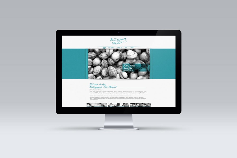 Billingsgate Fishmarket – Web Design