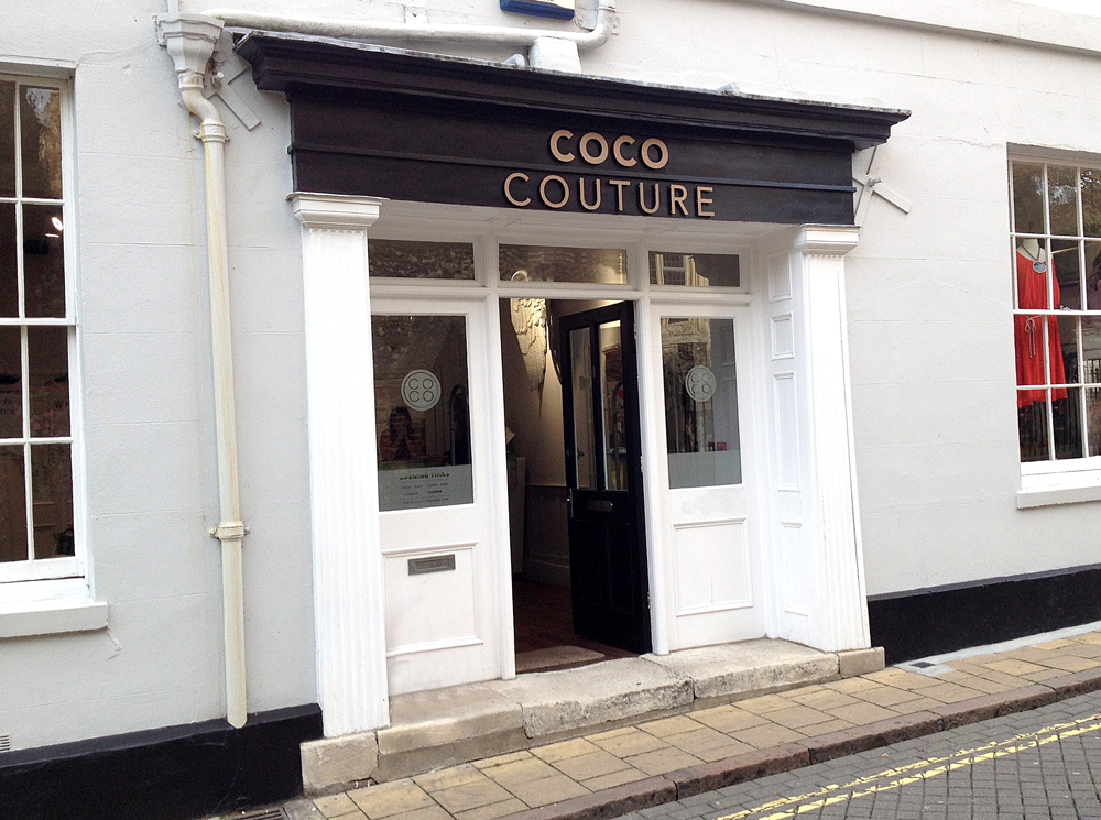 Coco Couture  Shop Front